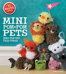 kids can craft a menagerie of soft little pets with the mini pom