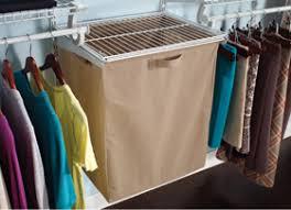 Closetmaid Shelf Track System Fabric Hamper With Frame Closetmaid