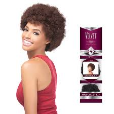 weave on short afro hair outre 100 remy human hair weaving velvet remi short afro curl 3 4