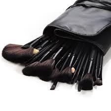 amazon com drq makeup brushes 32 pcs black rod super professional