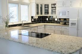 granite countertop lighted medicine cabinet tile backsplash