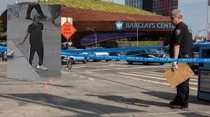 man shot outside barclays center in brooklyn police say am new york