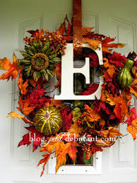 exterior beautiful autumn wreaths design ideas with autumn