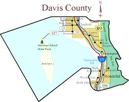 davis map map of davis county