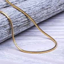 accessories chain necklace images Tsv jewelers accessories 14k yellow gold snake box chain jpg