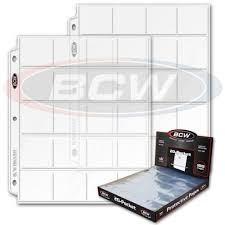 archival photo pages 27 bcw 20 pocket archival pages and 3 ring binders 2x2 for coins