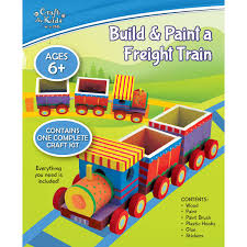 Make Your Own Wooden Toy Train by Make Your Own Freight Train By Craft For Kids Bms Wholesale