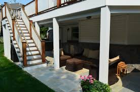 walkout basement deck and patio ideas crowdbuild for