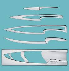 cool kitchen knives knife within a knife inception knife set