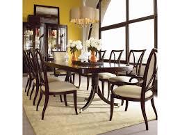 Thomasville Bedroom Furniture Hardware Thomasville Studio 455 Nine Piece Double Pedestal Table Dining