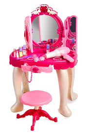 Pink Vanity Table Pink Princess Make Up Vanity Table For With Sound And