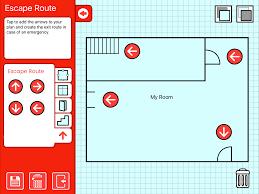Fire Evacuation Route Plan by Project Kids Fire Escape Planner Supertapp Interactive Ltd