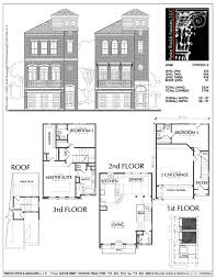 townhome plan d7093 u2 3 ஃ ᗩ r c h pinterest townhouse