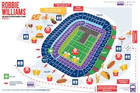 Emirates Stadium Floor Plan Map Of Murrayfield Stadium Murrayfield Stadium Interactive Seating