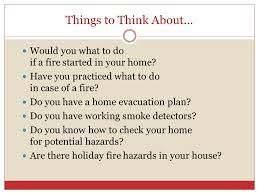 home family safety things to think about would you what to do