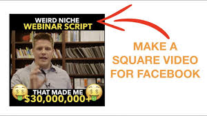 How To Make Facebook Memes - how to make a square facebook video meme on mac pc youtube