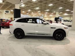 jaguar f pace black what colors were displayed at the auto shows jaguar forums