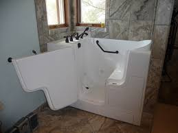walk in shower with tub walkin tub and euro style shower accessible systems
