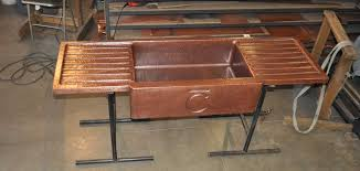 farmhouse sink with drainboard copper sink drain sink ideas