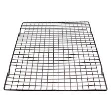 Wire Bakers Rack Nonstick Cooling Rack Mesh Grid Baking Cookie Biscuit Cake Drying