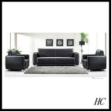 Black Sectional Sofa Bed by Hc S162 China Simple Cheap Reception Sofa Black Sectional Sofa