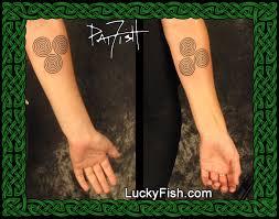 optical magic celtic spiral tattoo design u2014 luckyfish inc and