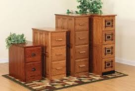 Solid Wood File Cabinets Amish Solid Wood Office Furniture
