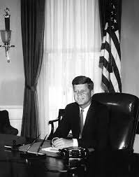 Desk In Oval Office by Ar6283 A Portrait Photograph Of President John F Kennedy John