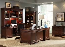 84 Inch Bookcase Louis Jr Executive 84 Inch Bookcase In Deep Cherry Finish By