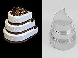 backform hochzeitstorte tins 3 backformen tropfen für mehrstöckige hochzeitstorte