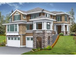 hillside house plans for sloping lots stunning house plans for hillside gallery ideas house design
