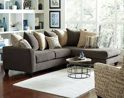 charcoal gray sectional sofa chaise lounge wonderful living room