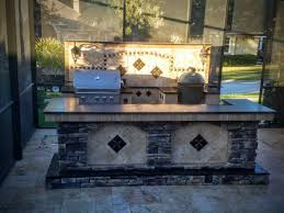 creative outdoor kitchens backsplash creative outdoor kitchens