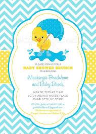 duck themed baby shower duck themed baby shower invitations 12011