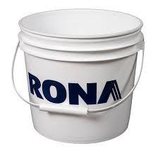 plastic paint pail 4l rona
