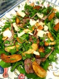 scrumpdillyicious lamb chops with fingerling potatoes mint u0026 arugula