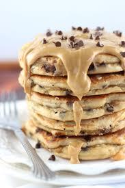 halloween pancakes peanut butter chocolate chip pancakes