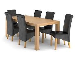 lindos dining table 6 darcy chairs