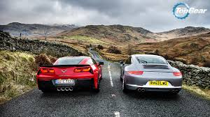 corvette on top gear top gear wallpaper of the c7 corvette and the 991 carerra s imgur
