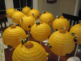 bumblebee decorations relief society table decorations beehive centerpieces just after