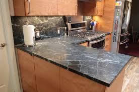 Soapstone Countertops Backsplash - Soapstone backsplash