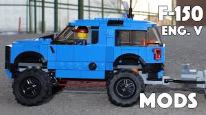 lego toyota tundra ford f150 raptor mods lego 75875 english youtube