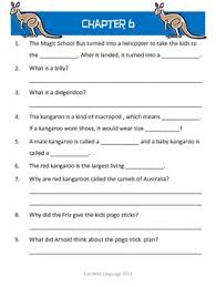 magic bus 10 expedition down under worksheets science