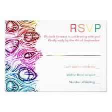 custom invitations online rainbow wedding rsvp online custom template custom invitation