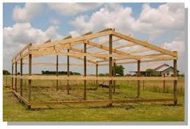 Setting Pole Barn Posts How To Build A Pole Barn Secrets And Shortcuts Diy Awesomenes