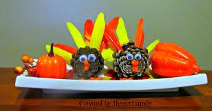 diy thanksgiving centerpiece 1 1 family