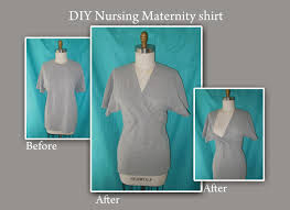 nursing shirt the eighth diy maternity nursing shirt