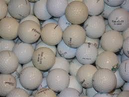 practice used golf balls