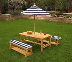 Outdoor Table And Chairs Perth Bowman Wood Picnic Table Style Outdoor Dining Set Image On