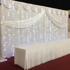 wedding backdrop led 20ft x 10ft twinkle in the led lights for backdrops ebay